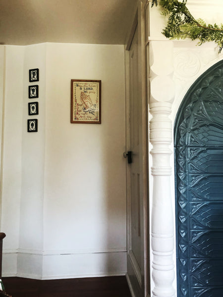 Take a House Tour of our tiny, DEBT-FREE House - hallway