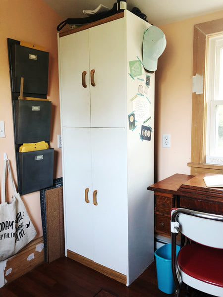 Take a House Tour of our tiny, DEBT-FREE House - office space