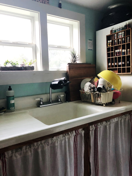 Take a House Tour of our tiny, DEBT-FREE House - kitchen window