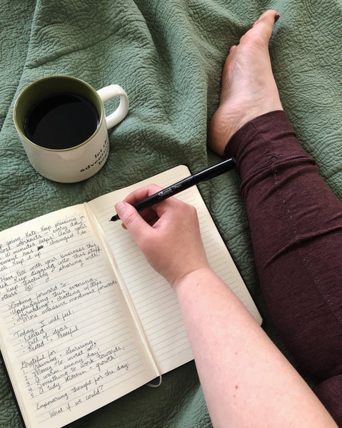 "How to Stick with Journaling — and why it hasn't ""worked"" for you before."