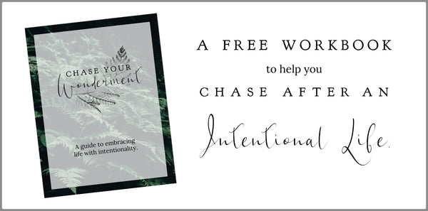 Chase Your Wonderment: A Guide to embracing life with intentionality.