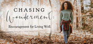 Chasing Wonderment: encouragement for living well, words of encouragement