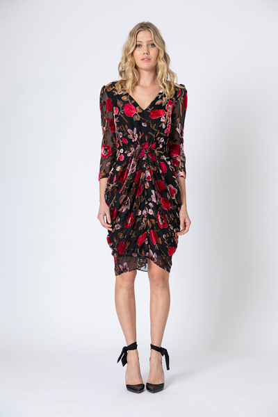 Athena Rouched Dress