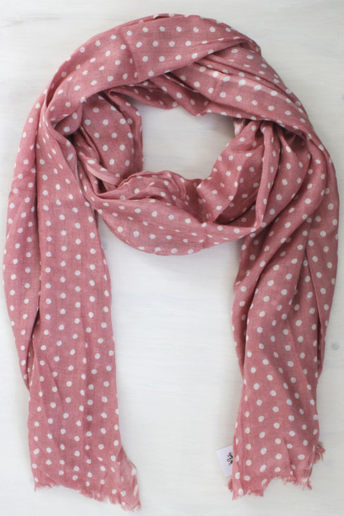 Blossom Spotted Scarf