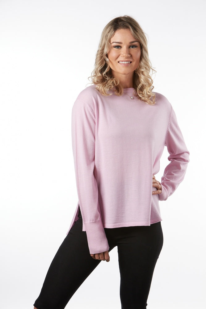 Boat Neck Pullover