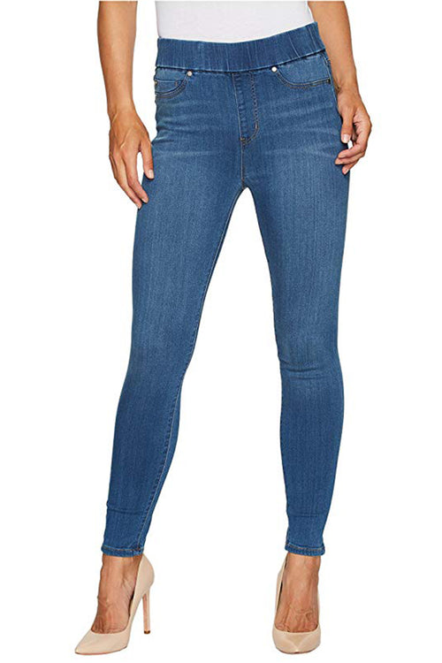 Farrah High Waist Pull On Ankle Jean