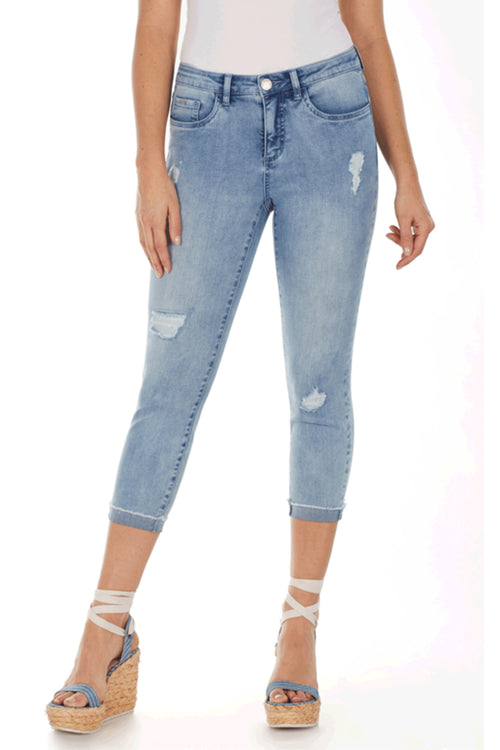 Olivia Roll-Up Crop Pant