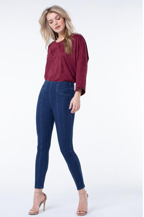 Reese High Rise Ankle Skinny Jean