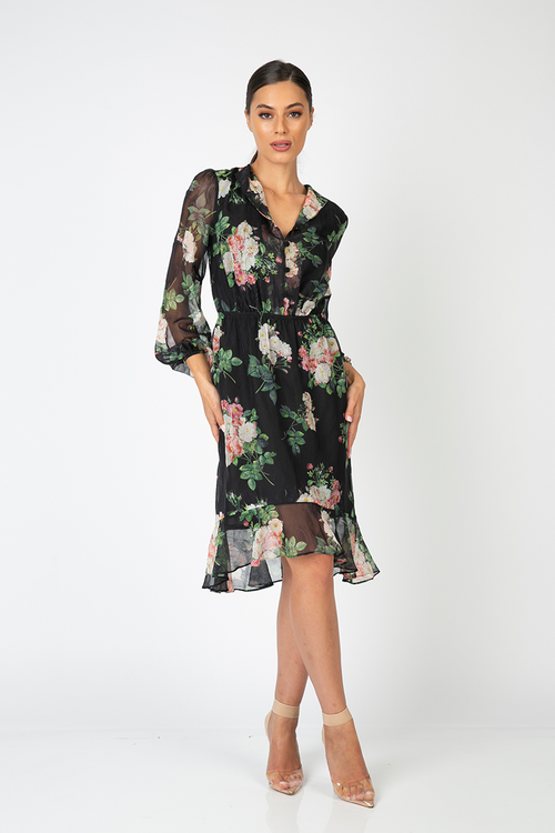 Rosetta Sleeve Dress