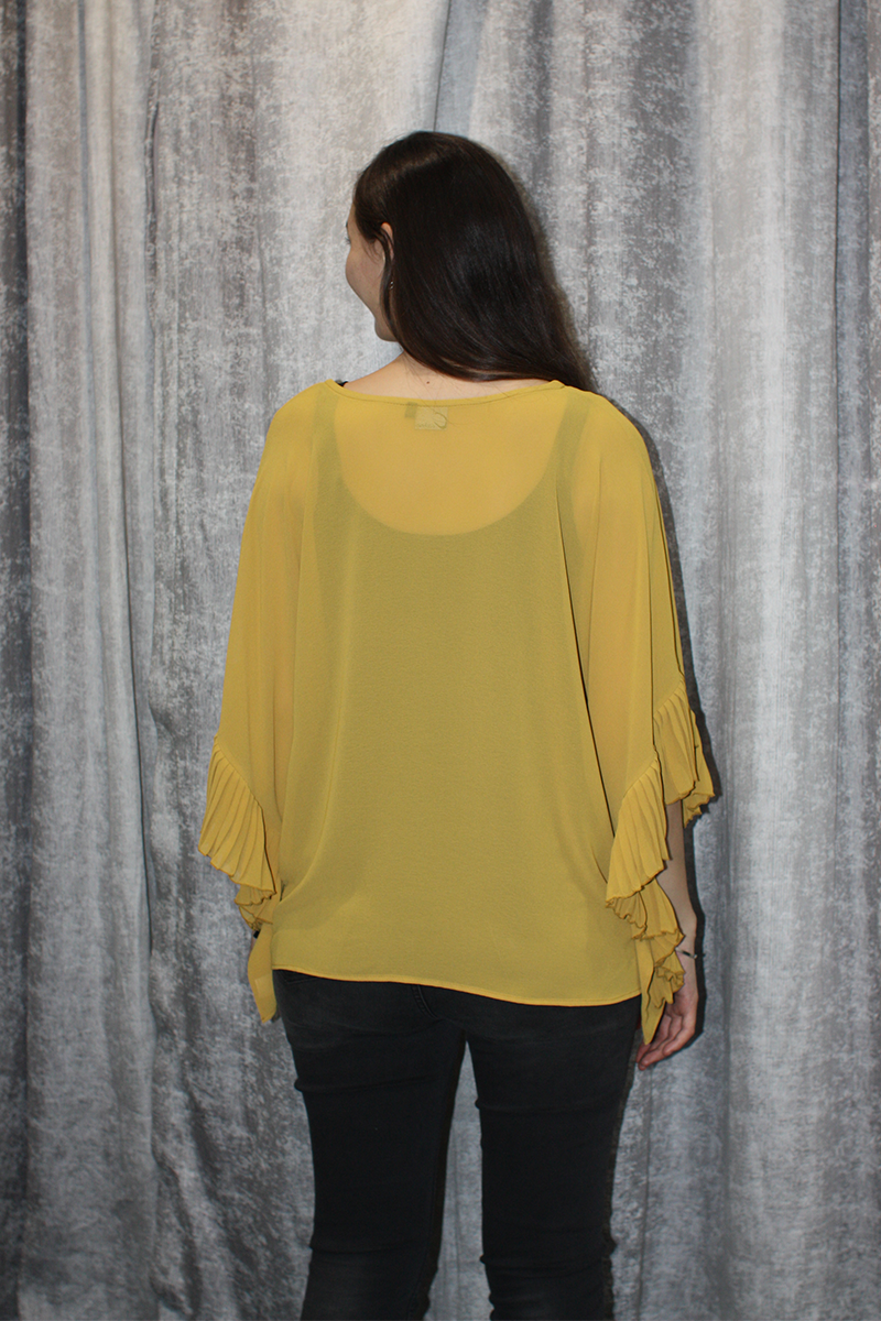 SS Pleat Top