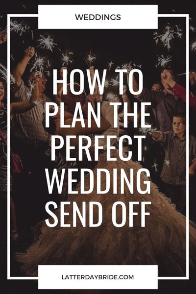 Wedding Send Off Ideas