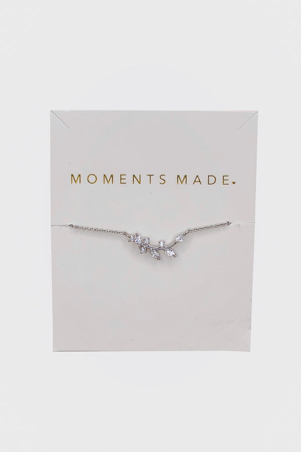 The bracelet is our best-selling bracelet. It's super dainty, sparkly, and is the perfect complement to any outfit.
