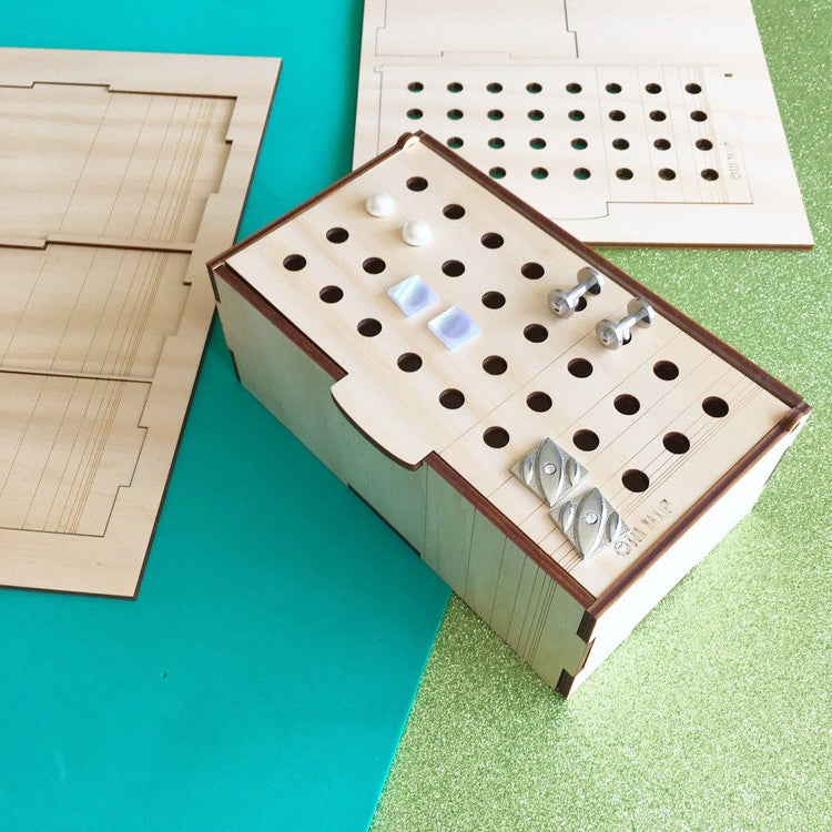 DIY Wooden Cufflink Box