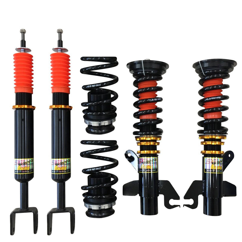 SF Racing Track Coilovers - 1989-1994 Mitsubishi Eclipse 2WD (1G)