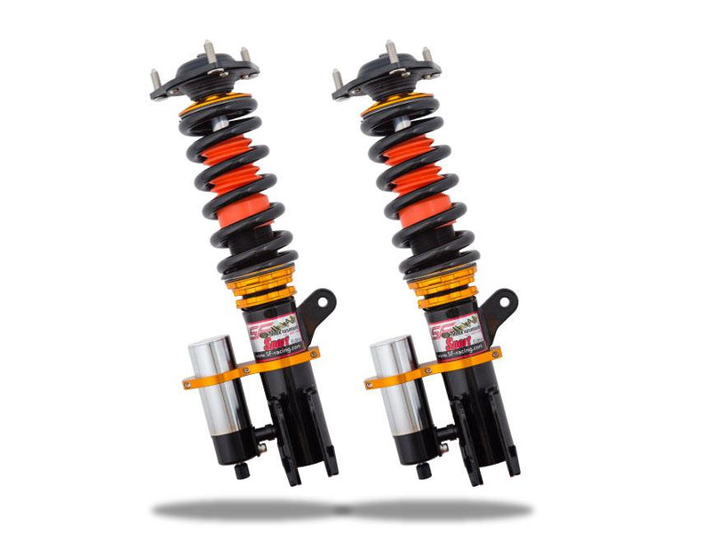 SF Racing Sport Plus Coilovers - 2005-2007 Subaru WRX STI (GDBF)