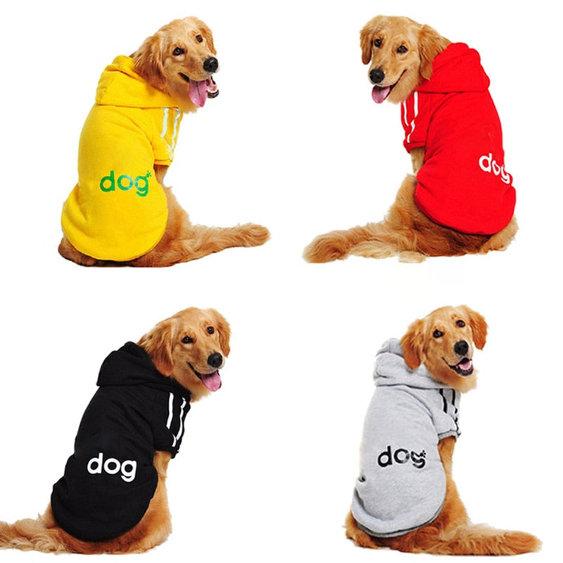 2019 New Big Dog Clothes For Golden