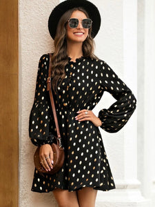 Sophie polka dot dress