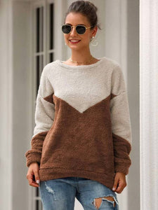 Bethany teddy sweater