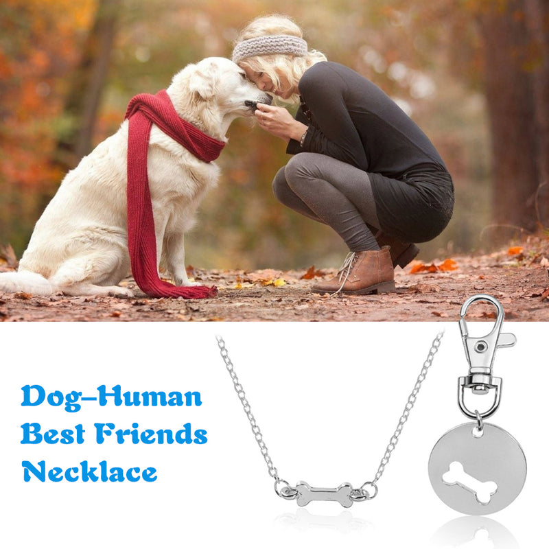 Dog - Human Best Friends Necklace
