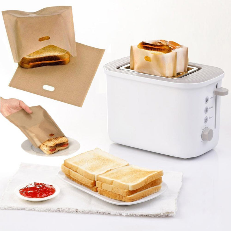 Toast And Grill Bags,5 Packs - PAPA BEAR HOME