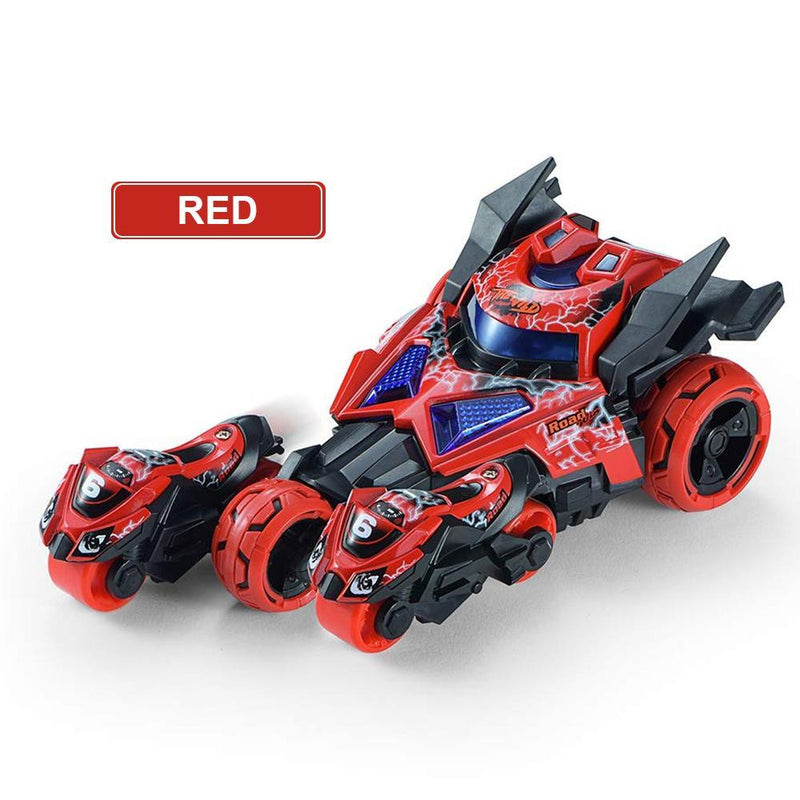 3 in 1 Race Car Toy, Motorcycle Race Vehicles Toy for Kids