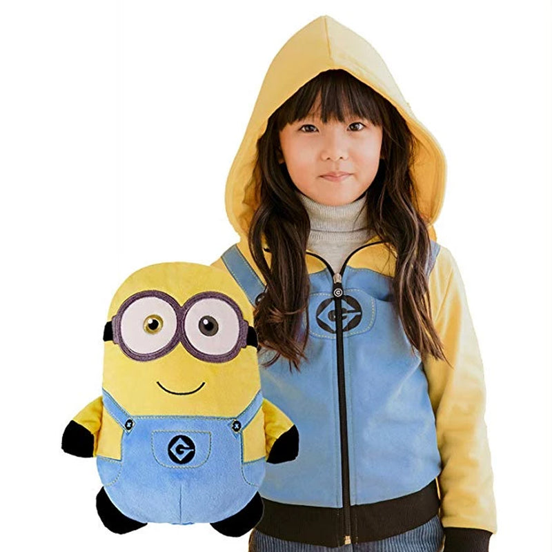 2-in-1 Transforming Hoodie and Soft Plushie