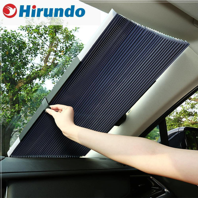 Hirundo Car Retractable Curtain With UV Protection - PAPA BEAR HOME