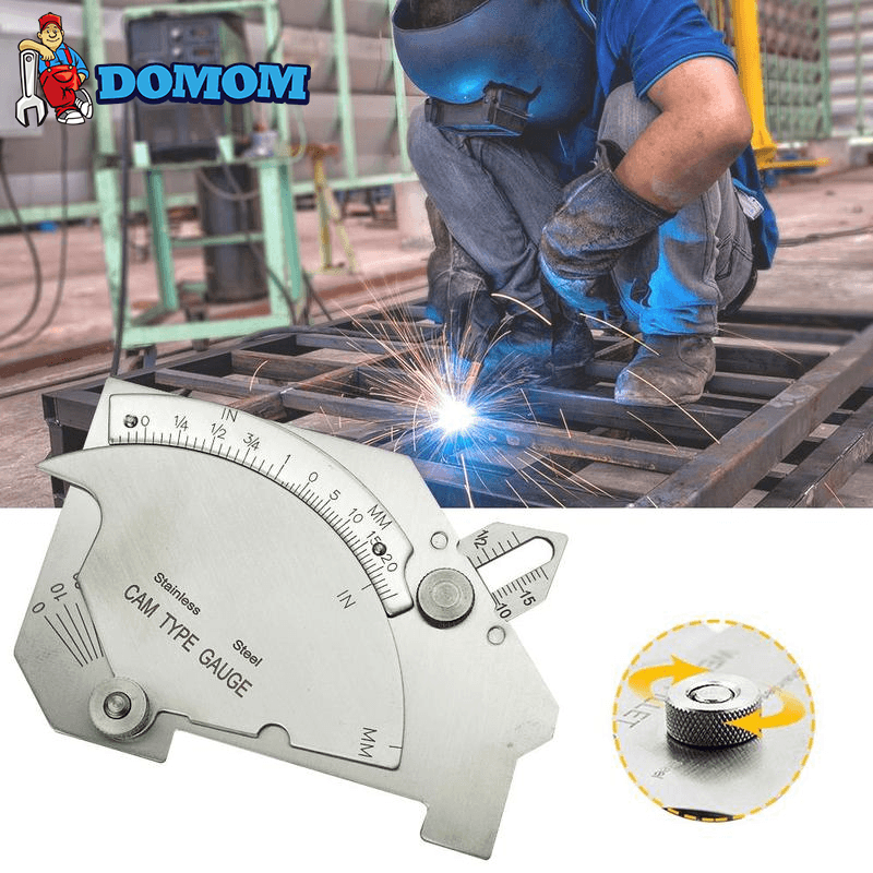 DOMOM Welding Inspection Ruler Weld Gauge - PAPA BEAR HOME