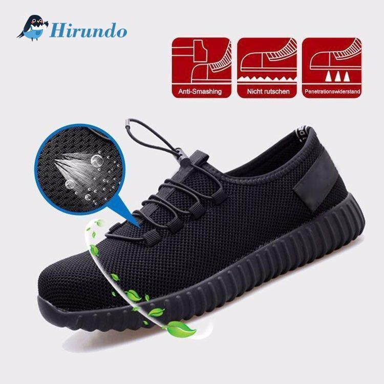 Hirundo Lightweight Indestructable Safety Shoe, 1 pair - PAPA BEAR HOME
