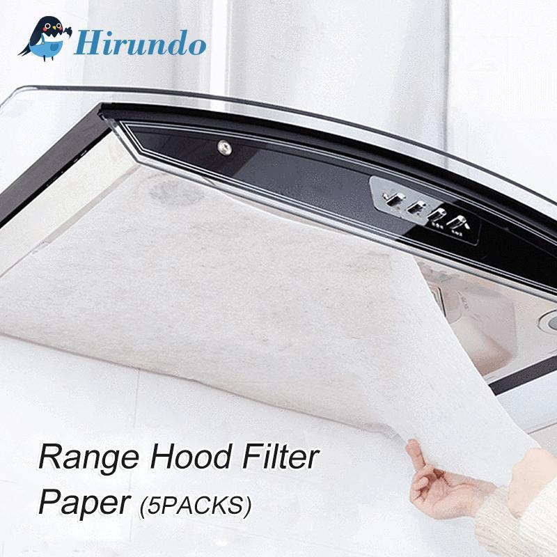 Hirundo Clean Cooking Nonwoven Range Hood Grease Filter Paper - PAPA BEAR HOME