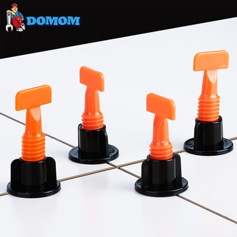 DOMOM Reusable Tile Leveling System (50PCS Pack) - PAPA BEAR HOME