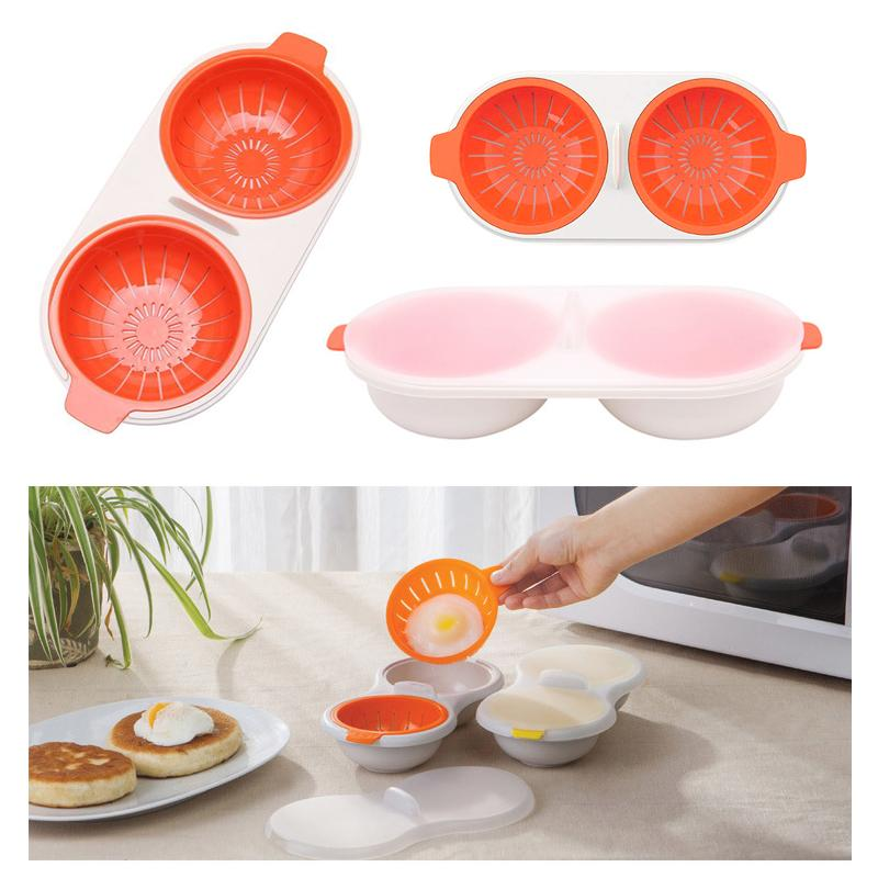 Mrcorgi™ Portable egg cooker for microwave