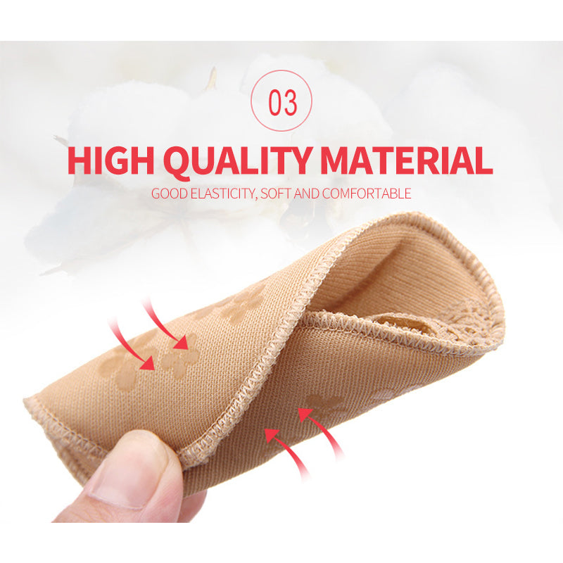 Ladies Forefoot Invisible High Heeled Shoes/Slip Resistant Half Yard Pads
