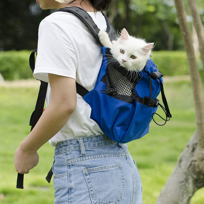 Double Backpack for the Pet Dog/Cat Passenger
