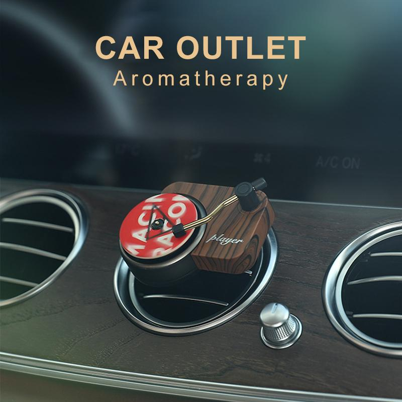 Record Player Shaped Car Outlet Aromatherapy