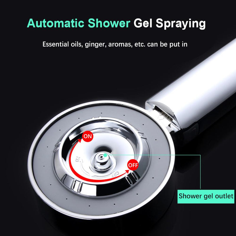 Double Sided High Pressure Shower Head