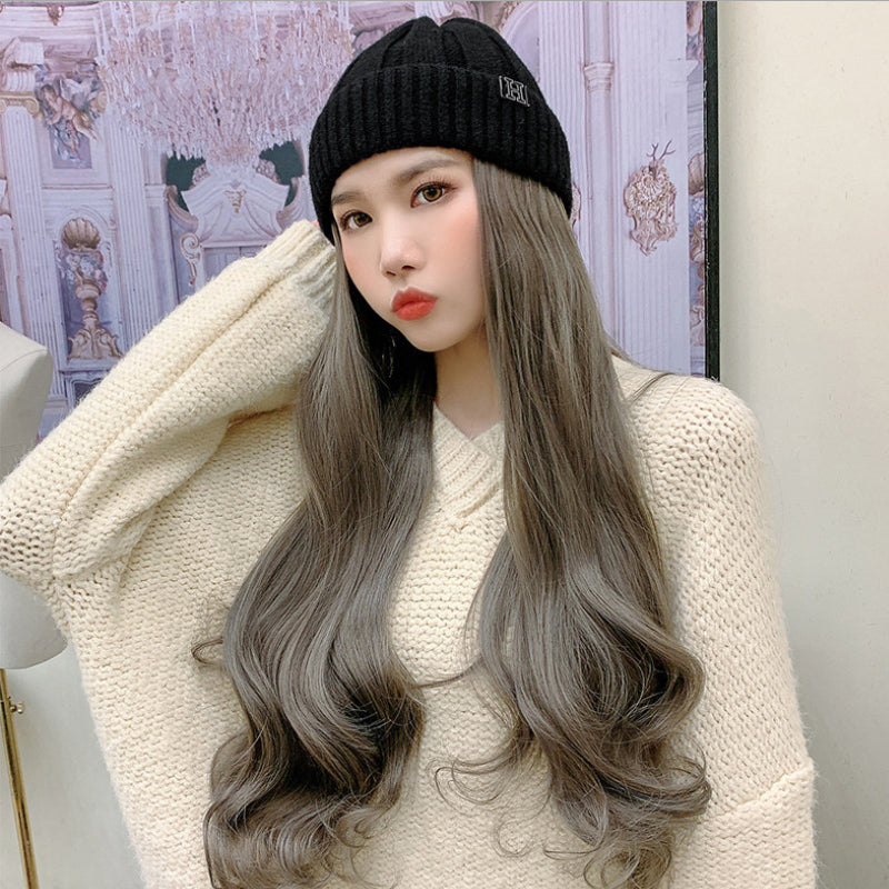 Winter Hair Wig hat