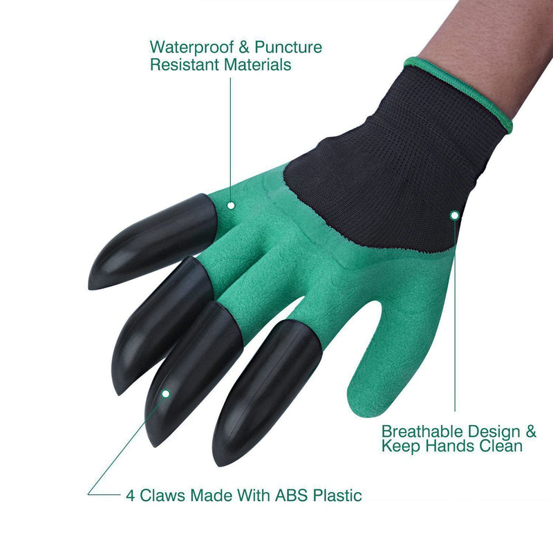 Hirundo Garden Genie Gloves with Claws on Right Hand - PAPA BEAR HOME