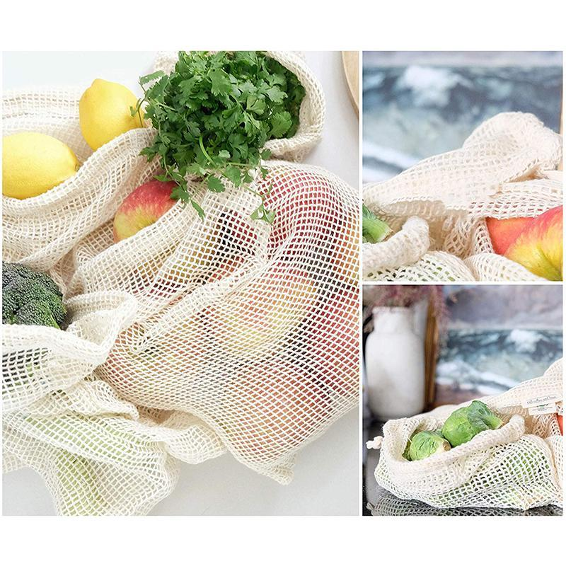 Reusable  Washable Biodegradable Bags