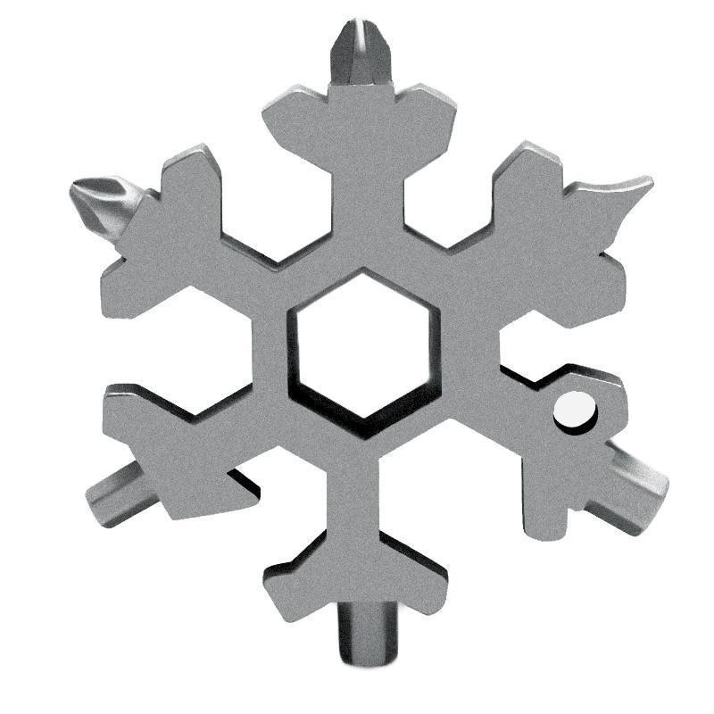 Saker® 18-in-1 stainless steel snowflakes Multi-Tool (Gift Set)