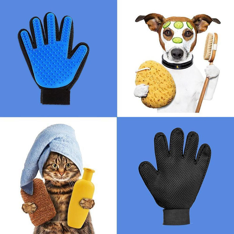Hirundo Pet Hair Remover Glove (Great for Cats/Dogs) - PAPA BEAR HOME