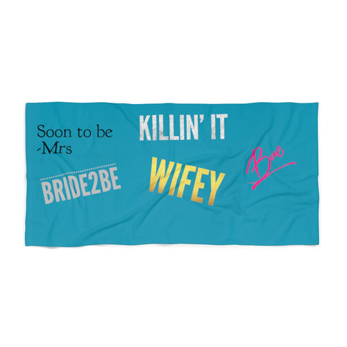 The Ultimate Honeymoon Beach Towel