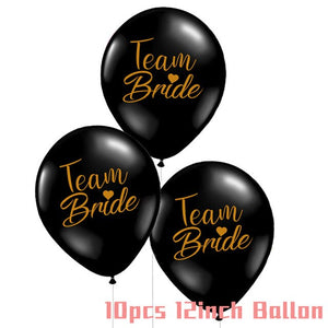 Wedding Decorations Bridesmaid Decoration Glasses Sex Pills Heart Balloons Bridal Shower Decoration Bachelorette Party Supplies