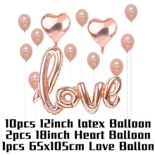 Load image into Gallery viewer, Wedding Decorations Bridesmaid Decoration Glasses Sex Pills Heart Balloons Bridal Shower Decoration Bachelorette Party Supplies