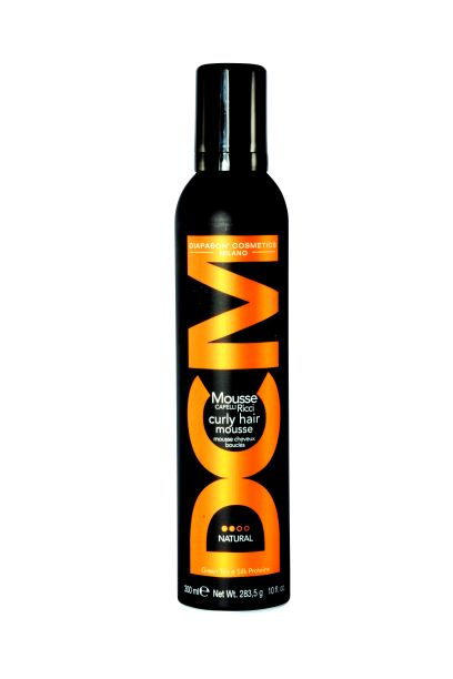 DCM Curly Hair Mousse