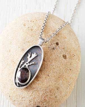 Frost Necklace With Super 7 Stone