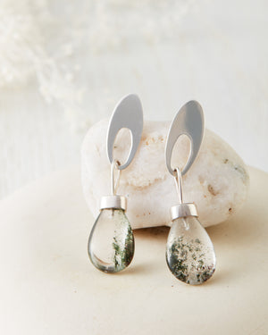 Phantom Quartz Earrings