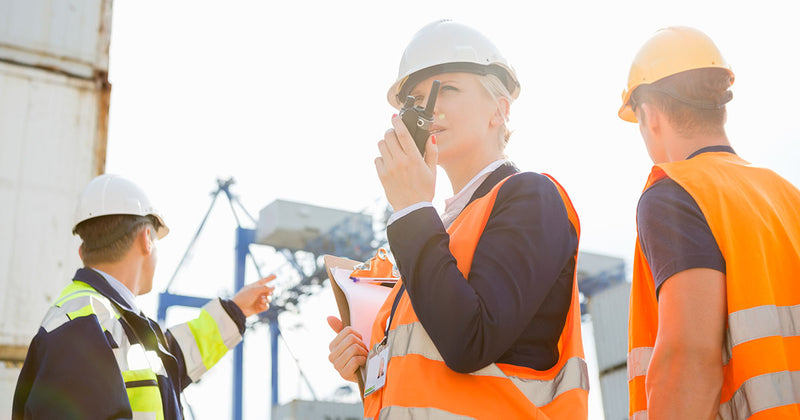 two way radios for construction article