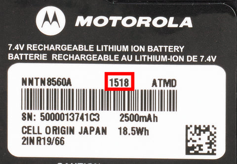 How To Determine the Age of a two-way radio battery