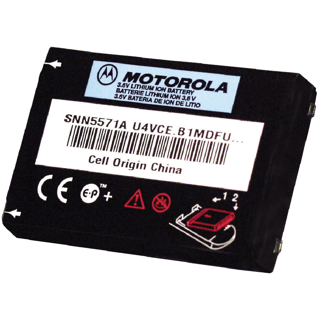 Motorola-Accessory-56557 Battery-Motorola 56557, 1100 mAh Li-ion Battery-Radio Depot
